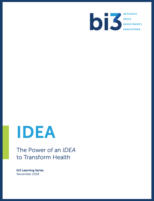 The Power of an IDEA to Transform Health
