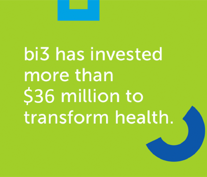 bi3 has invested more than $36 million to transform health in Greater Cincinnati.