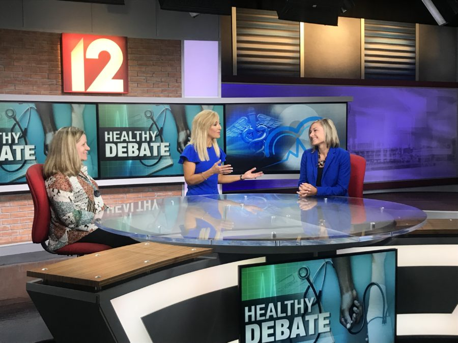 "bi3 joins Local 12 in ""Healthy Debates"""