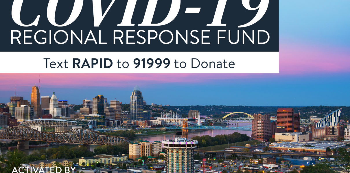 COVID-19 Regional Response Fund Activated to Respond to Urgent Needs in Our Community