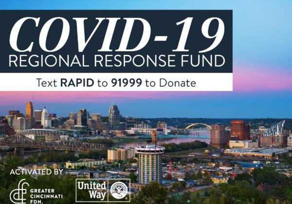 COVID-19 Regional Response Fund Grants $7.2 Million to Help with Coronavirus Pandemic Crisis