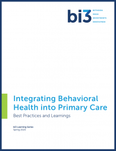 Learning-Series-Paper-Integrating-Behavioral-Health-into-Primary-Care-Spring-2020