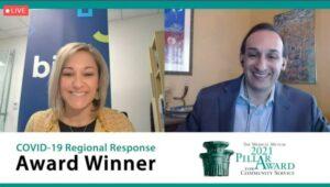 Jill Miller awarded Pillar Award